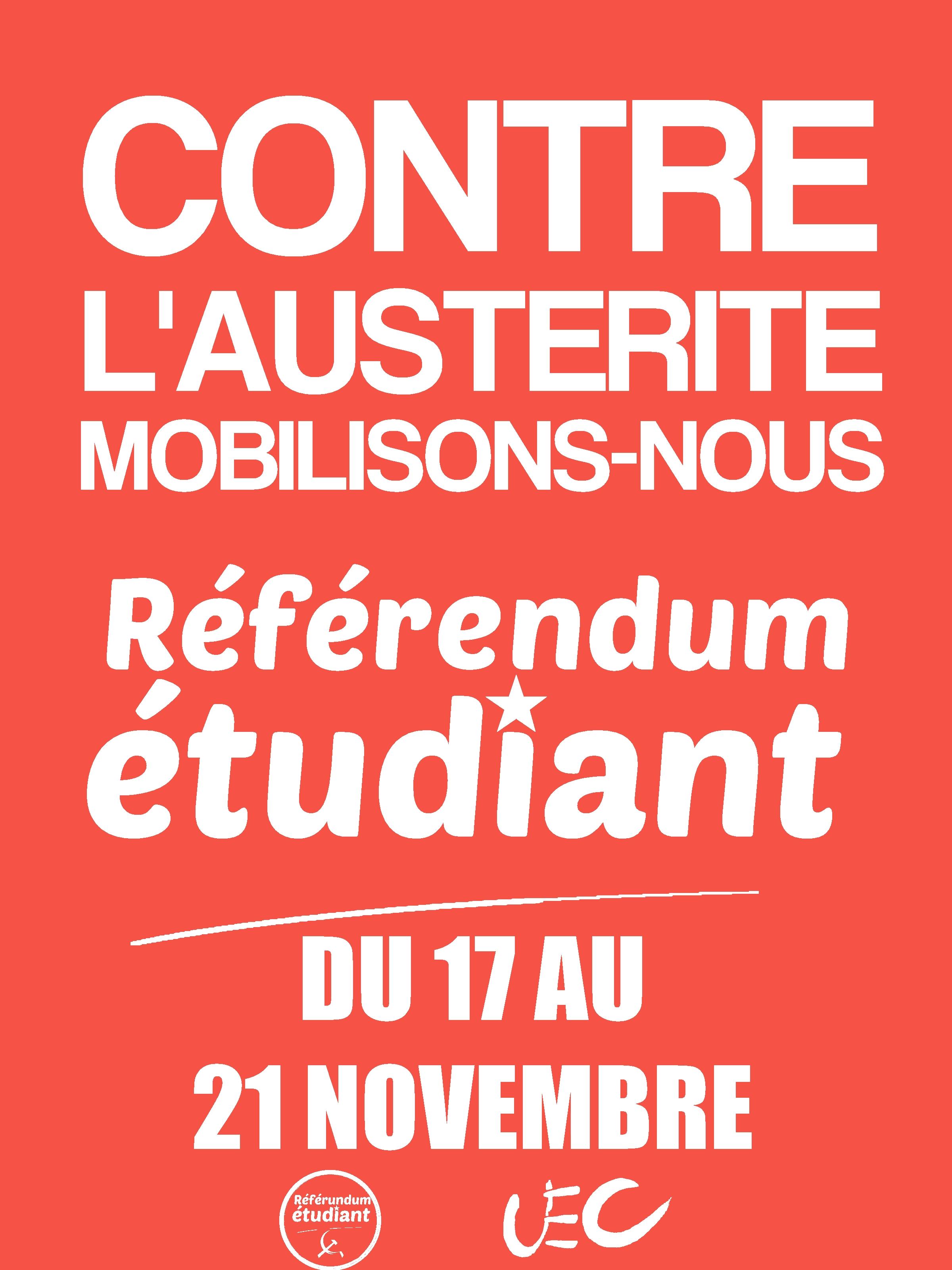 Le référendum étudiant: Une réponse aux besoins et aux exigences des étudiants