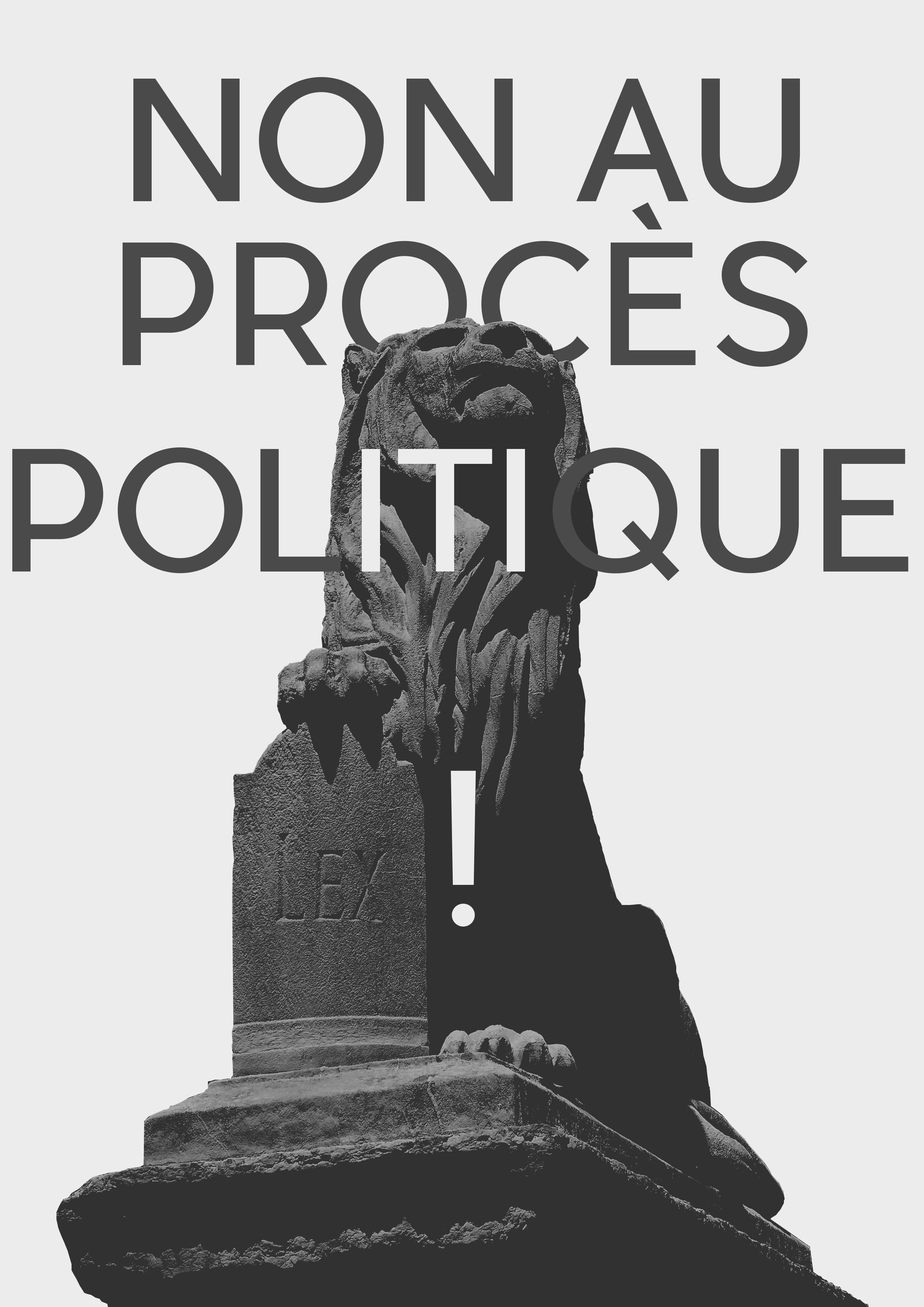 NON AU PROCÈS POLITIQUE ! Soutien aux jeunes de Saint-Étienne !