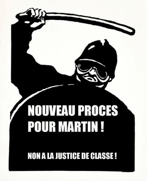 SCANDALE ! MARTIN UNE NOUVELLE FOIS EN PROCÈS LE 5 FÉVRIER A LYON !