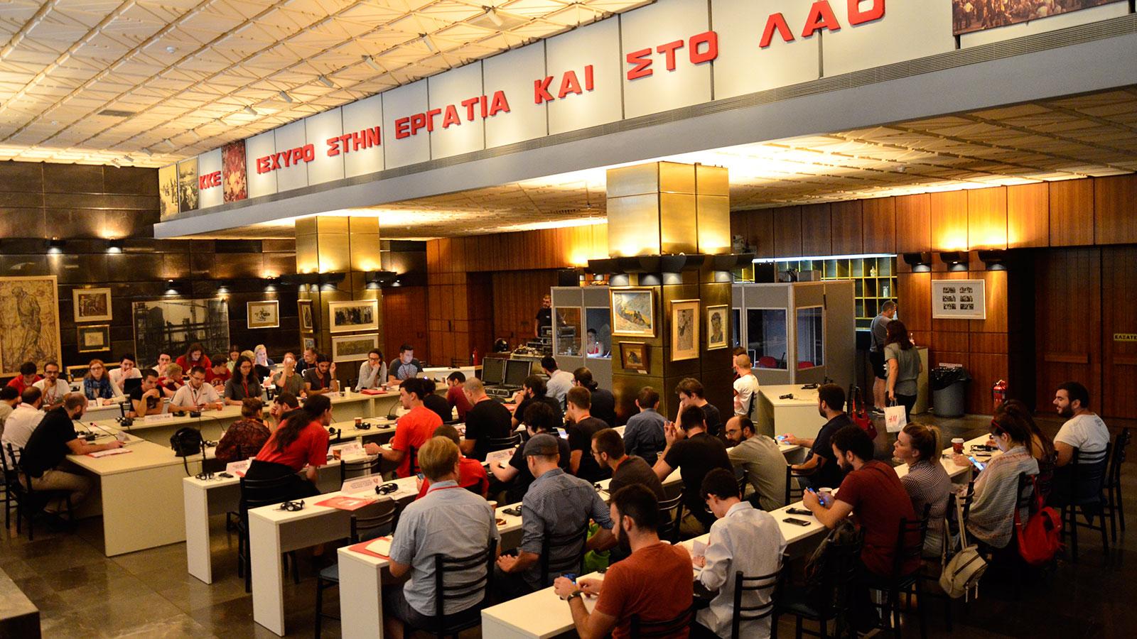 Déclaration des 21 organisations de jeunesse communiste ayant participé à la 14ème Rencontre des organisations de jeunesse communiste européennes à Athènes