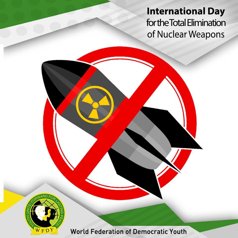 Déclaration de la FMJD à propos de la Journée internationale pour l'élimination totale des armes nucléaires