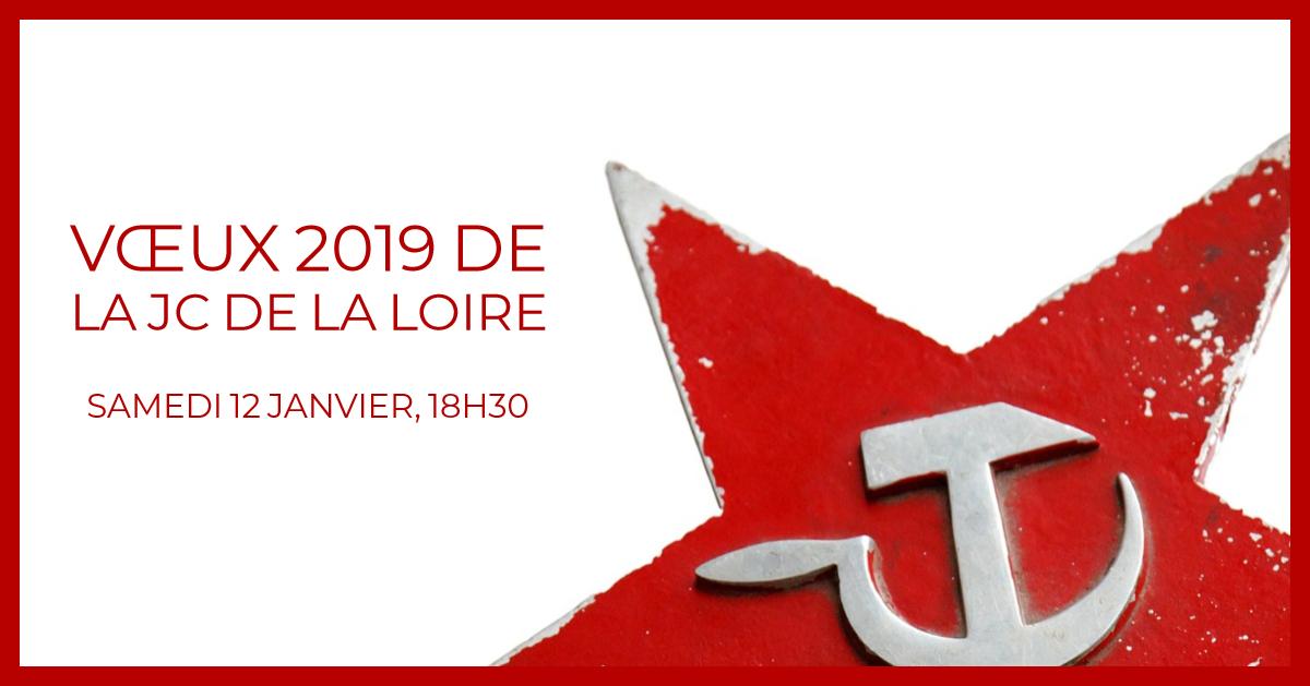 Vœux 2019 de la Jeunesse Communiste de la Loire