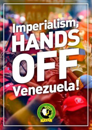 IMPÉRIALISME, BAS LES PATTES DU VENEZUELA! – Déclaration de la FMJD