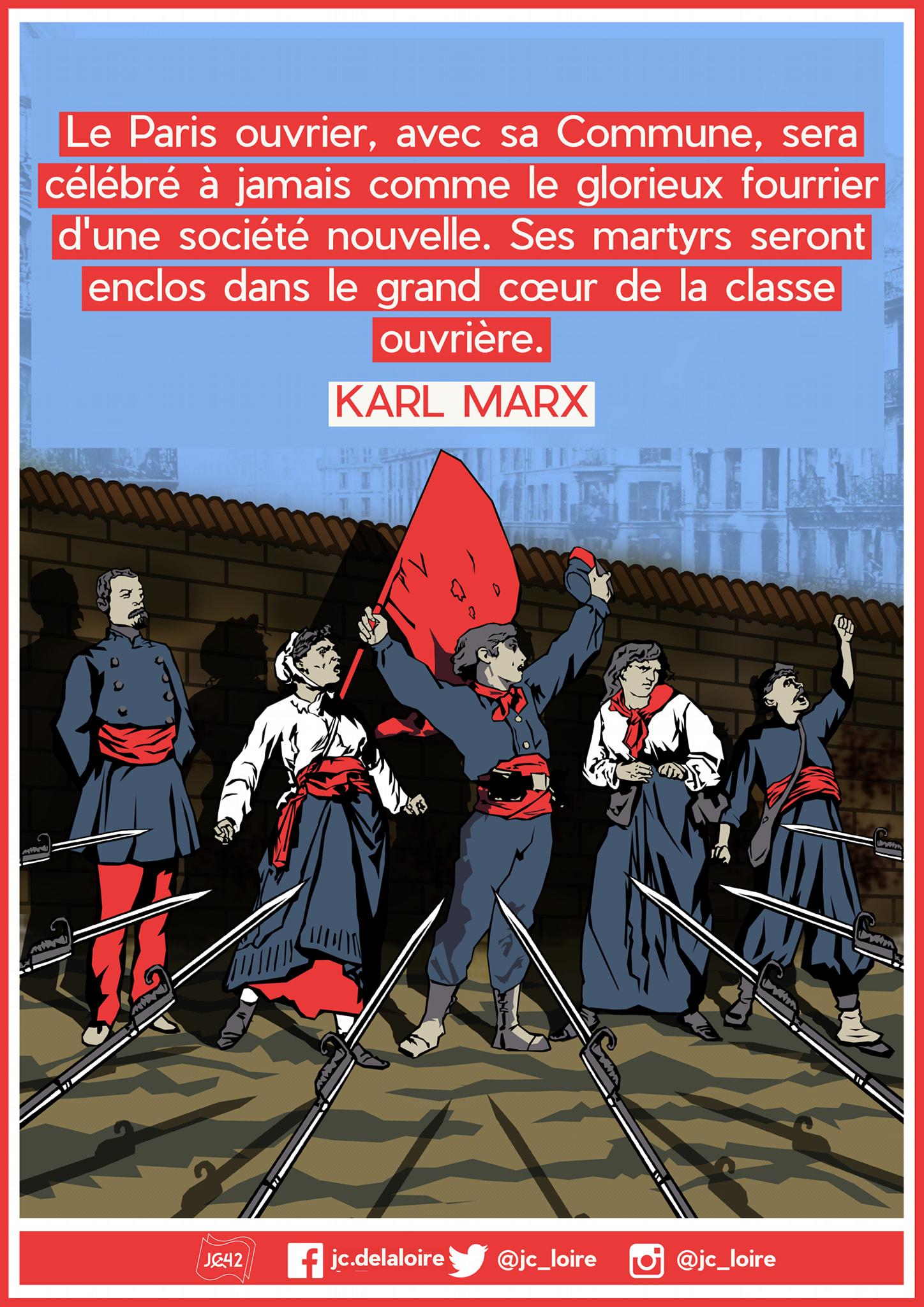 150ÈME ANNIVERSAIRE DE LA COMMUNE DE PARIS – VIVE LA COMMUNE ! VIVE LA RÉVOLUTION SOCIALE !